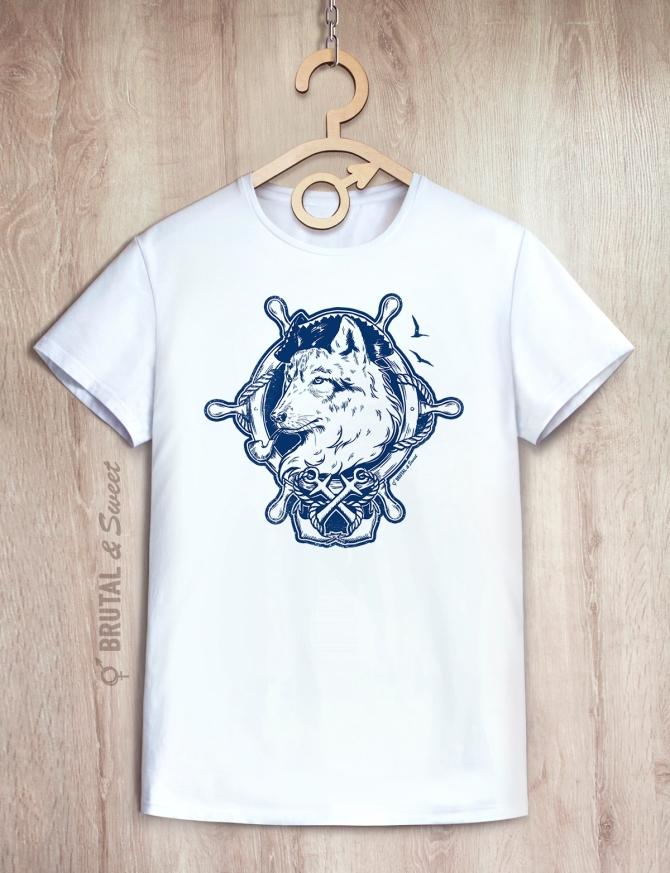 Футболка «Морской волк»