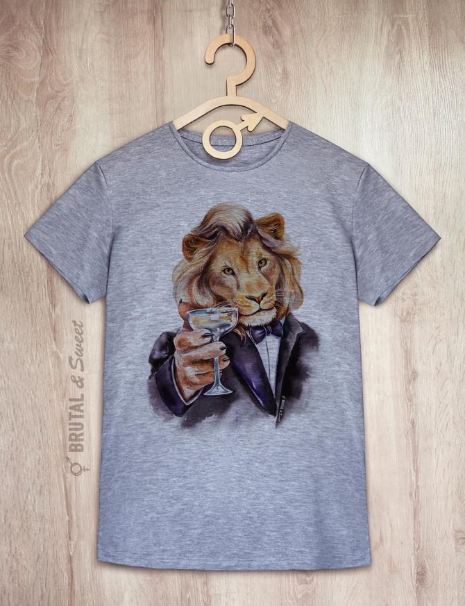 Футболка со львом «Leo»