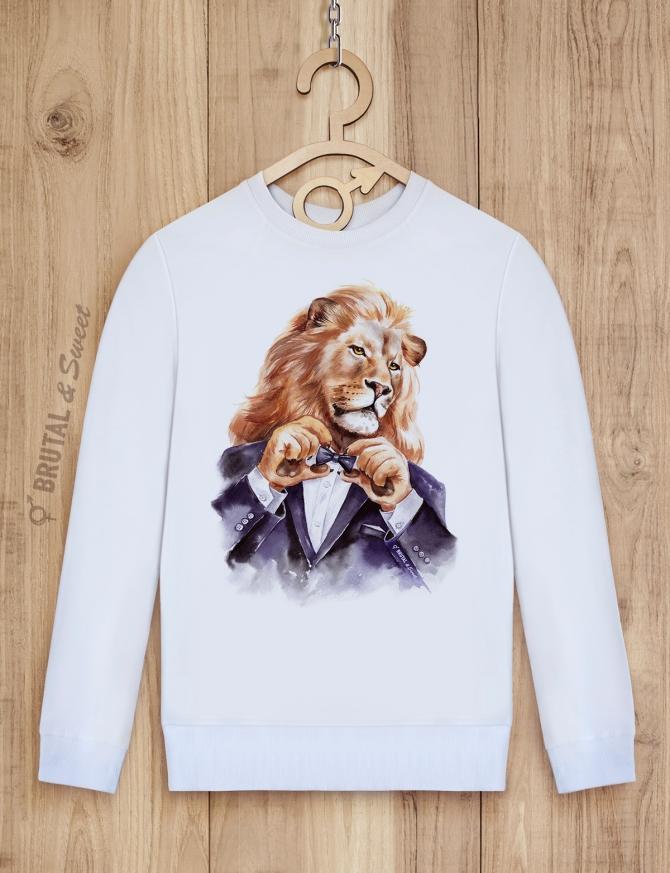 Парные свитшоты «Светский лев» и «Светская львица»