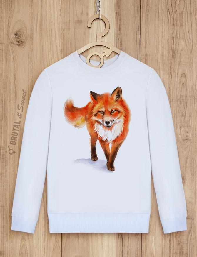 Парные свитшоты с лисами «Wild Fox» и «Foxy Lady»