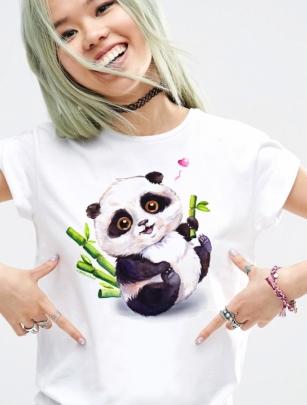 Футболка с пандой «Little Panda»