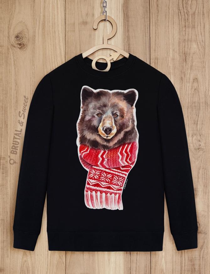 Свитшот с медведем «Winter Bear»