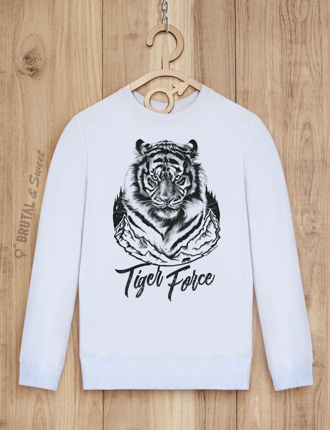 Свитшот с тигром «Tiger Force»