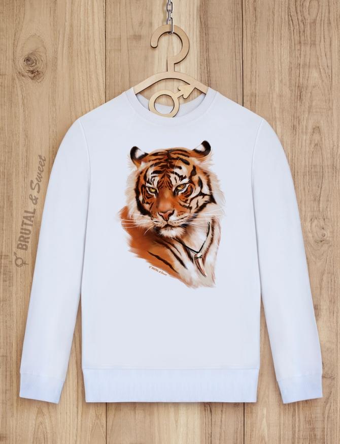 Семейные свитшоты с тиграми «Tiger Family»