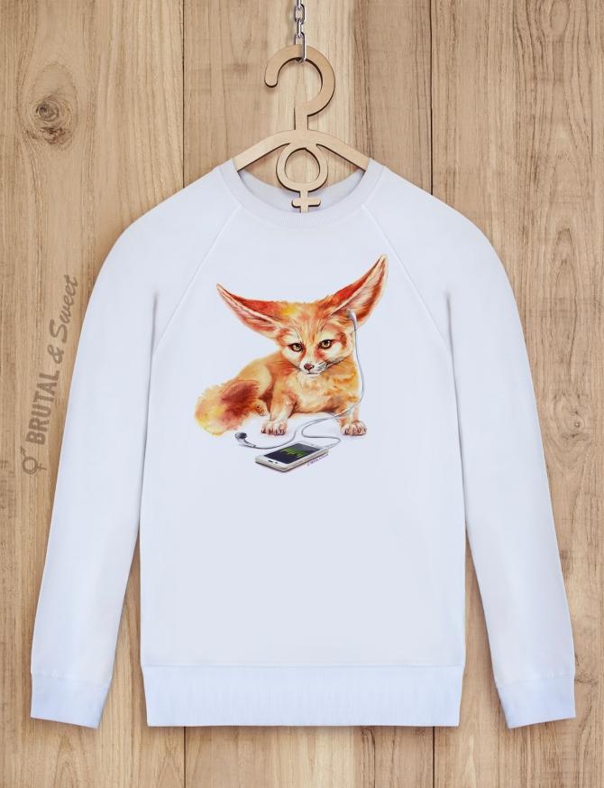 Свитшот с фенеком «Fennec Fox»