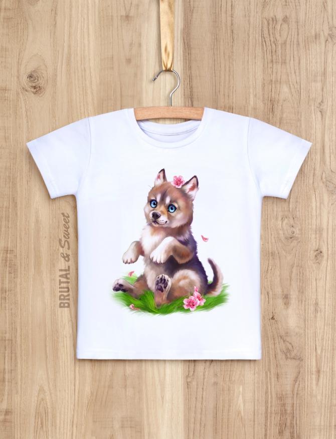 Семейные футболки с волками «Wolf Family»