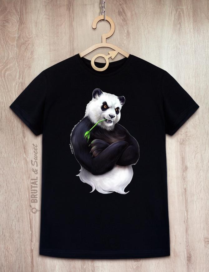 Футболка с пандой «Big Panda»