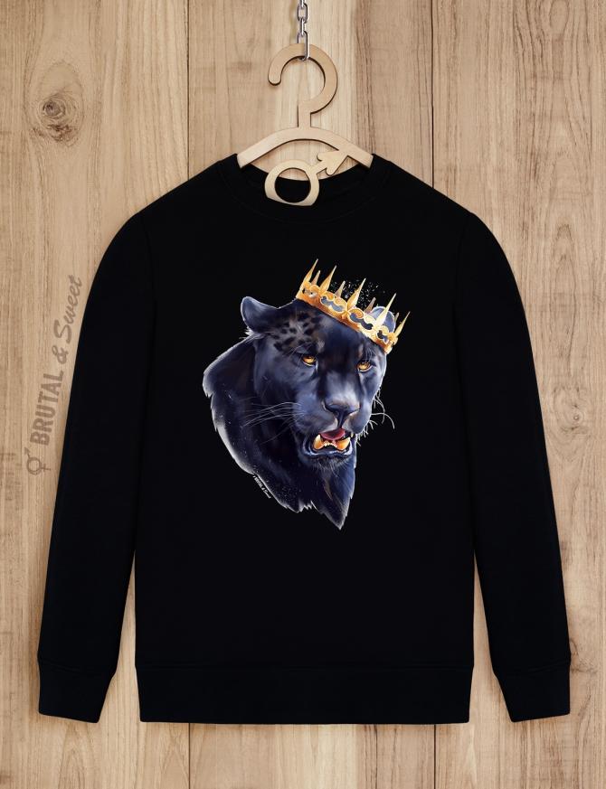 Свитшот мужской «Черная пантера»