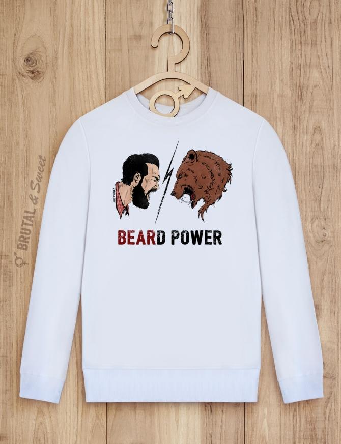 Свитшот «Beard Power»