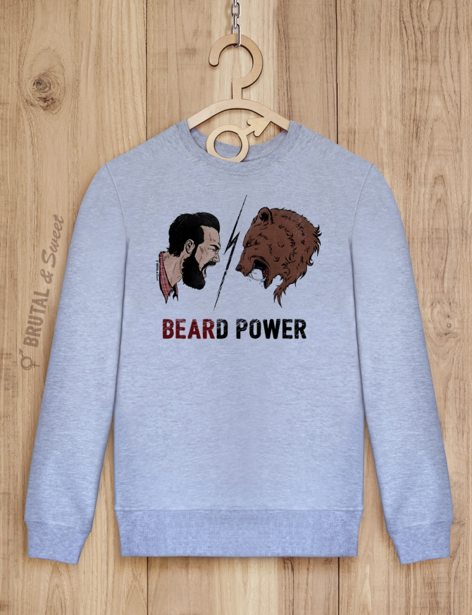 Свитшот «Beard Power»
