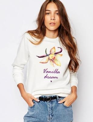 Свитшот с ванилью «Vanilla dream»