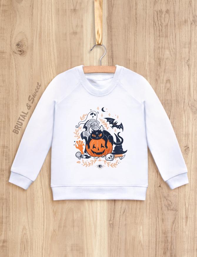 Семейные свитшоты «Halloween»