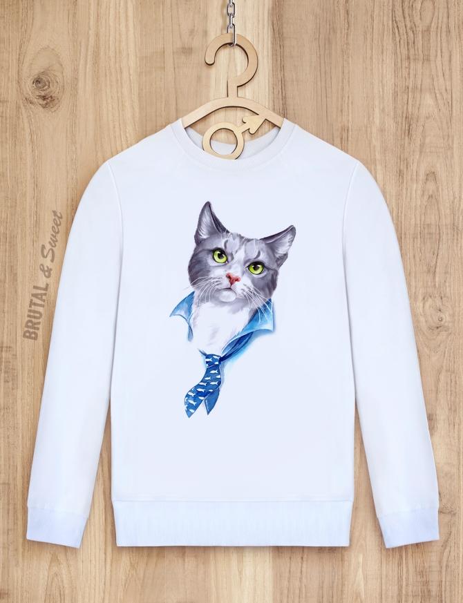 Свитшот с котом «Mister Cat»