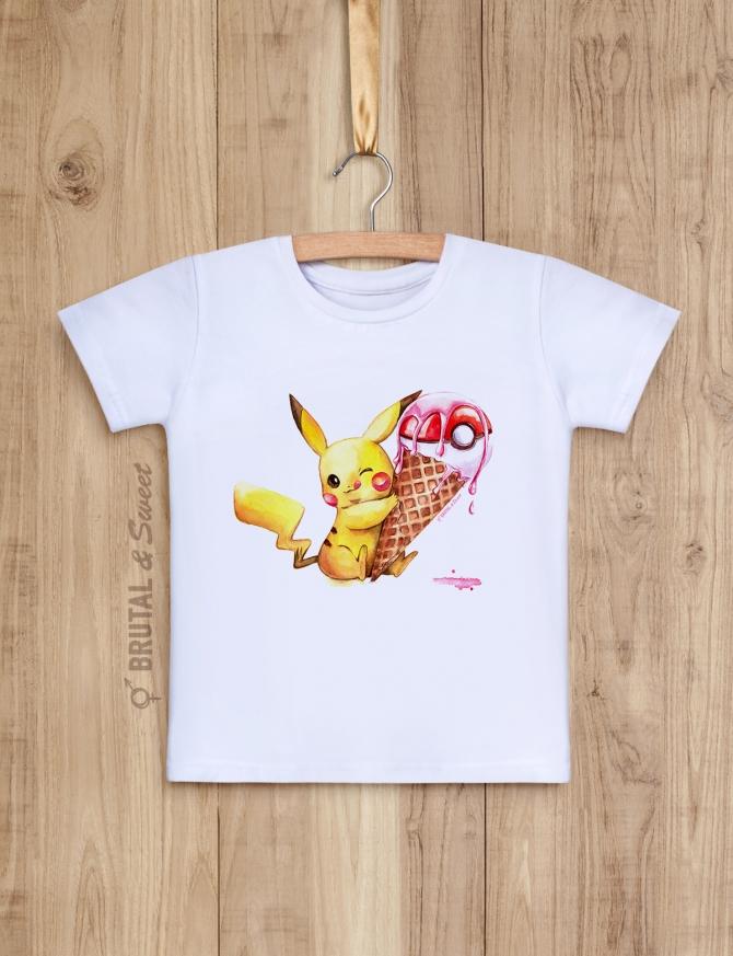 Детская футболка с покемоном «Pokemon»
