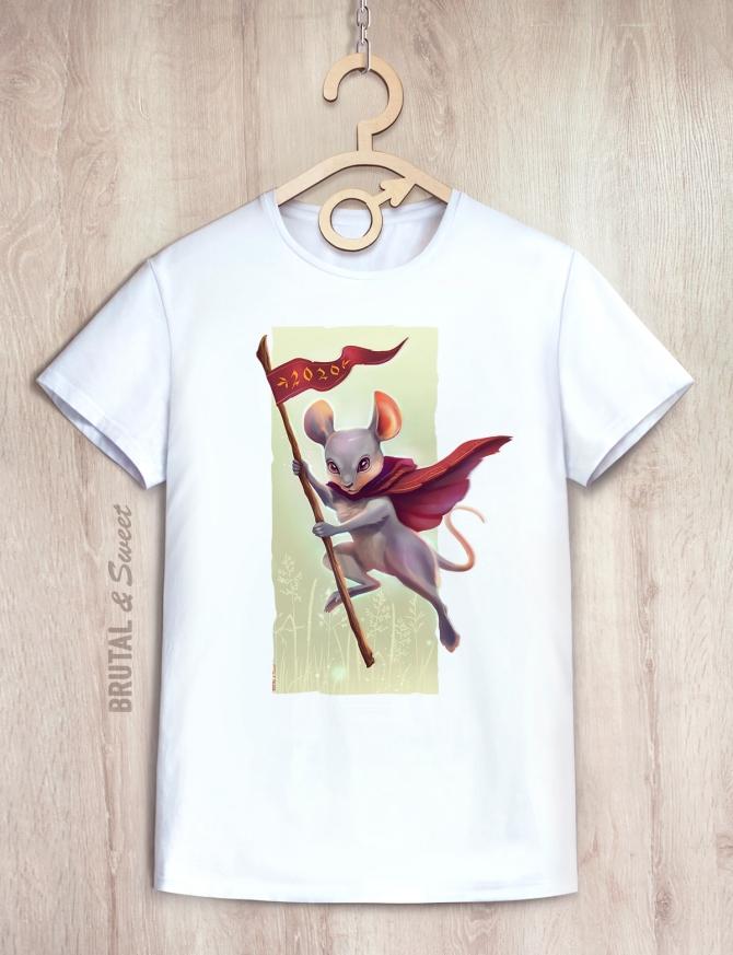 Парные футболки с Мышками