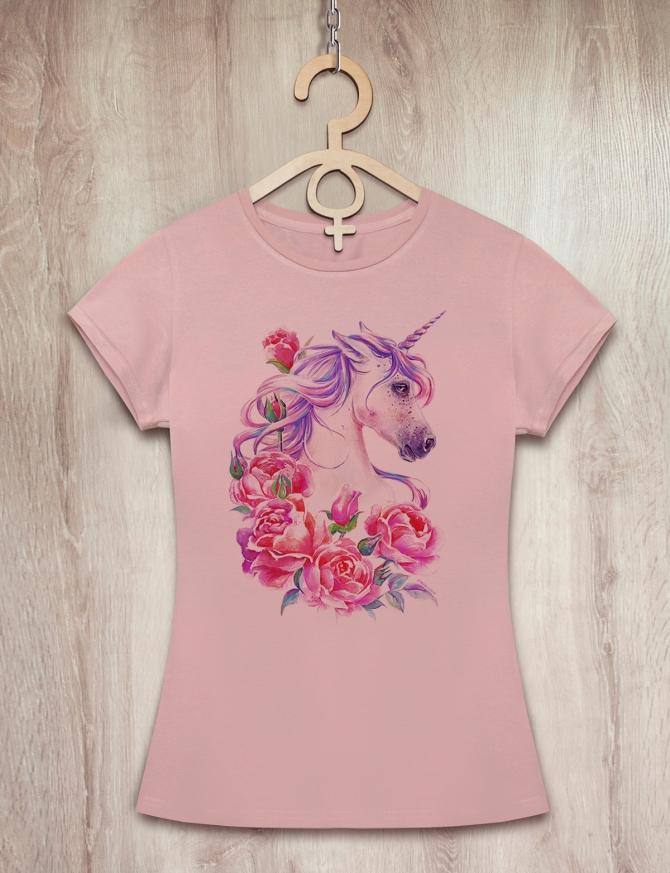 Футболка с розовым единорогом «Sweet Unicorn»