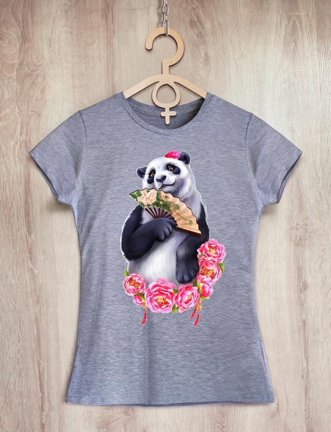 Семейные футболки с пандами «Panda Family»