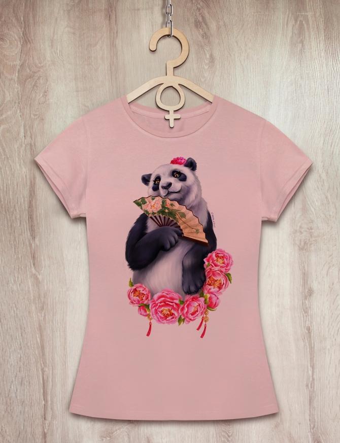 Футболка с пандой «Lady Panda»
