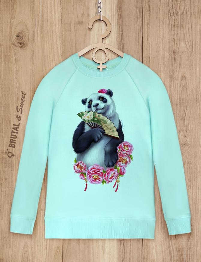 Свитшот с пандой «Lady Panda»