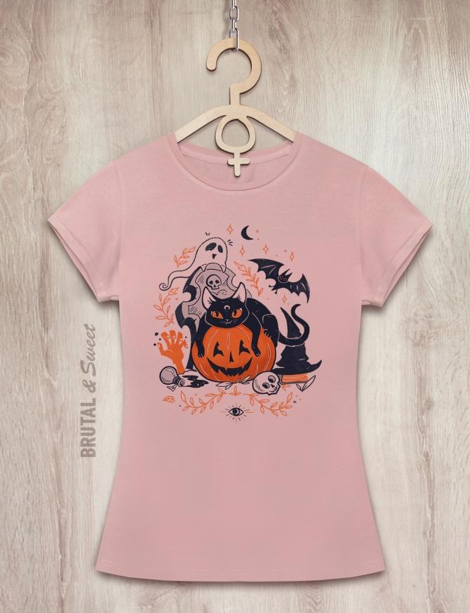 Футболка женская «Halloween»