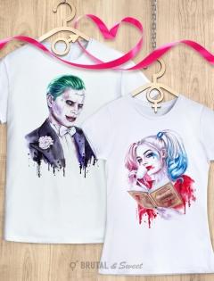 Парные футболки «Harley» и «Joker»