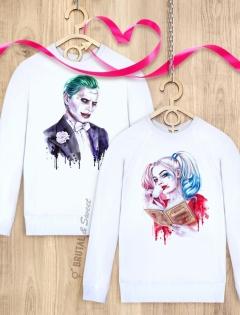 Парные свитшоты «Harley» и «Joker»