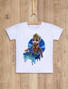 Детская футболка с малышом Грутом «MC Groot»
