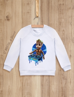 Детский свитшот с малышом Грутом «MC Groot»
