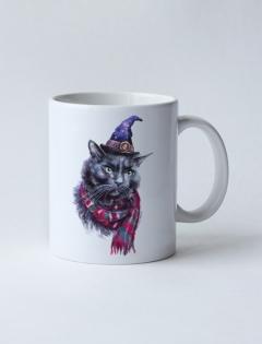 Кружка с рисунком «Charming Cat»