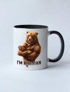 Кружка с рисунком «I'm Russian»
