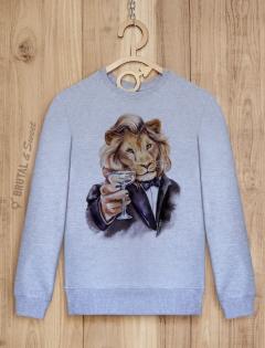 Свитшот со львом «Leo»