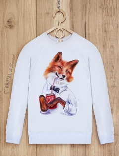 Свитшот с лисой «Foxy style»
