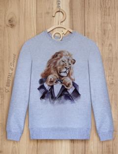 Свитшот «Светский лев»