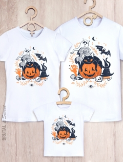 Семейные футболки «Halloween»