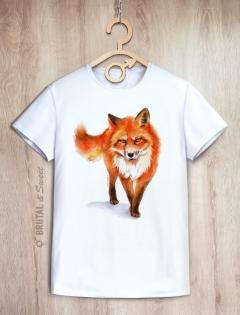 Футболка с лисом «Wild Fox»