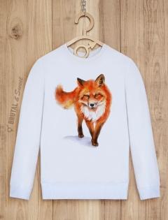 Свитшот с лисом «Wild Fox»