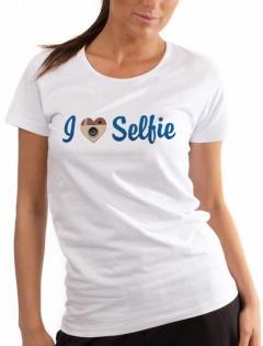 Футболка «I love selfie»