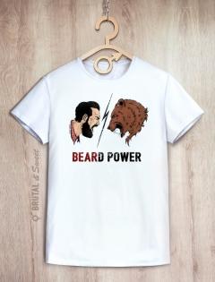 Футболка «Beard Power»
