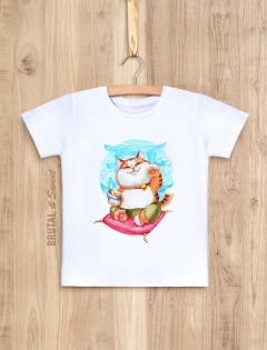 Детская футболка «Манэки-нэко»
