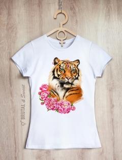 Семейные футболки с тиграми «Tiger Family»