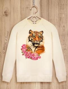Свитшот с тигрицей «Tiger Lady»