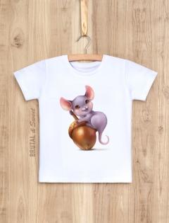 Детская футболка с мышонком «Mouse Kid (ver.2)»