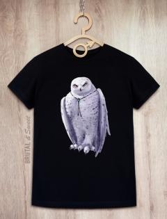 Футболка мужская с совой «Wold Owl»