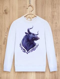 Свитшот с быком «Wild Bull»