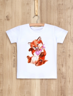 Семейные футболки с лисами «Foxy Family»