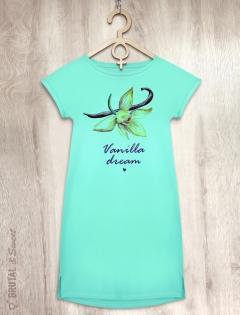 Платье мятное с ванилью «Vanilla dream»