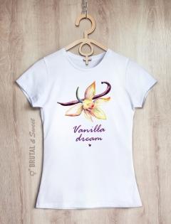 Футболка с ванилью «Vanilla dream»