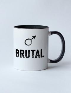 Кружка с рисунком «Brutal»