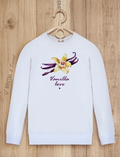 Свитшот с ванилью «Vanilla love»