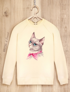 Свитшот женский «Lady Cat»